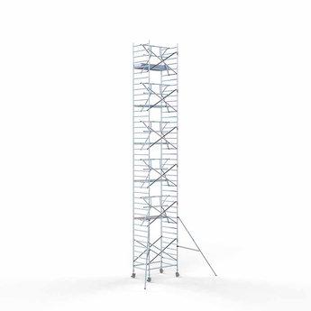 Rolsteiger Voorloopleuning Enkel 135 x 190 x 13,2 meter werkhoogte