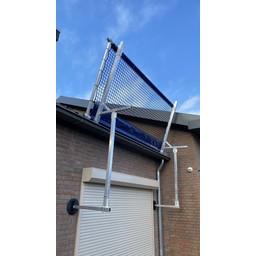 ASC Dakrandbeveiliging met vangnet complete set 3 meter