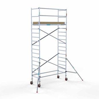 Rolsteiger Basis 90 x 250 x 6,2 meter werkhoogte met extra platform