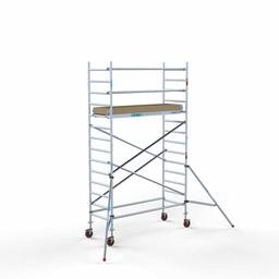 Rolsteiger Basis 90 x 250 x 5,2 meter werkhoogte met lichtgewicht platform