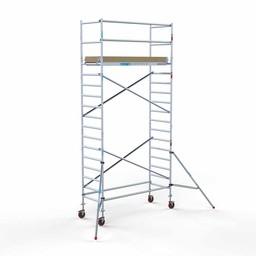 Rolsteiger Basis 90 x 250 x 6,2 meter werkhoogte met lichtgewicht platform