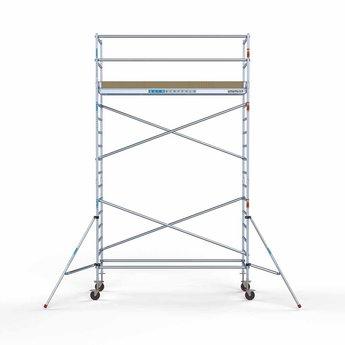 Rolsteiger Basis 90 x 305 x 6,2 meter werkhoogte met lichtgewicht platform