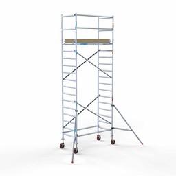 Actie: Rolsteiger Basis 90 x 190 x 6,2 meter werkhoogte met extra lichtgewicht platform