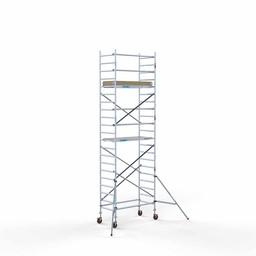Rolsteiger Basis 90 x 190 x 7,2 meter werkhoogte met lichtgewicht platform