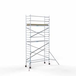 Rolsteiger Basis 90 x 305 x 7,2 meter werkhoogte met lichtgewicht platform