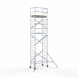 Rolsteiger Basis 90 x 190 x 8,2 meter werkhoogte met lichtgewicht platform