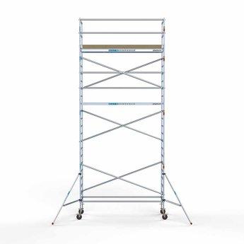 Rolsteiger Basis 90 x 305 x 8,2 meter werkhoogte met lichtgewicht platform