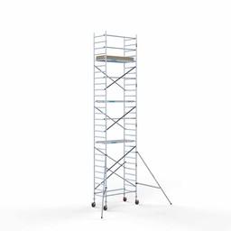 Rolsteiger Basis 90 x 190 x 9,2 meter werkhoogte met lichtgewicht platform