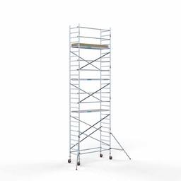 Rolsteiger Basis 90 x 250 x 9,2 meter werkhoogte met lichtgewicht platform