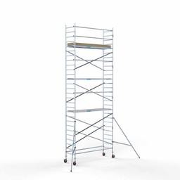 Rolsteiger Basis 90 x 305 x 9,2 meter werkhoogte met lichtgewicht platform