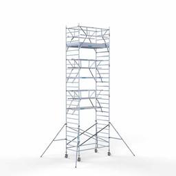 Rolsteiger Voorloopleuning Dubbel 135 x 250 x 9,2 meter werkhoogte