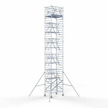 Rolsteiger Voorloopleuning Dubbel 135 x 190 x 12,2 meter werkhoogte