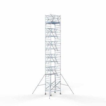 Rolsteiger Voorloopleuning Dubbel 135 x 190 x 13,2 meter werkhoogte