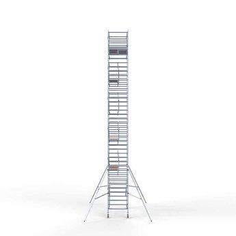 Rolsteiger Voorloopleuning Dubbel 135 x 305 x 13,2 meter werkhoogte