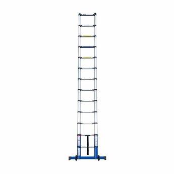 NIEUW: Telescoopladder Premium  Blue 4.4 meter