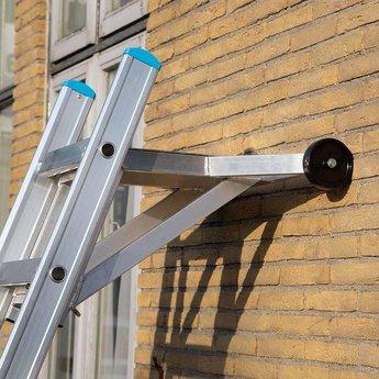 Ladderafhouder met traanplaat