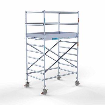 Rolsteiger Compleet 135 x 190 x 4,2 meter werkhoogte  met lichtgewicht platform