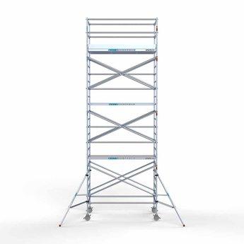 Rolsteiger Compleet 135 x 250 x 8,2 meter werkhoogte met lichtgewicht platform