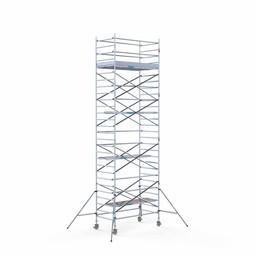 Rolsteiger Compleet 135 x 250 x 9,2 meter werkhoogte met lichtgewicht platform