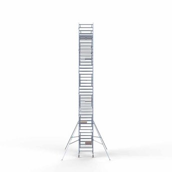 Rolsteiger Compleet 135 x 190 x 13,2 meter werkhoogte met lichtgewicht platform