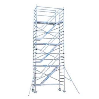 Rolsteiger Trappentoren 135 x 250 x 22 meter met lichtgewicht platformen