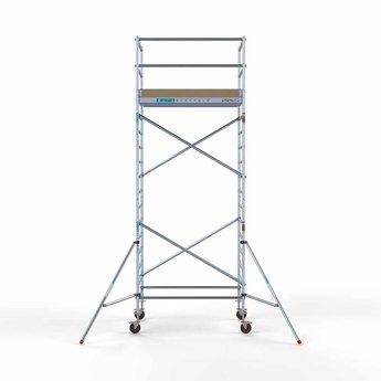 Steigeraanhanger 250 + Rolsteiger Basis 135 x 190 x 6,2 meter werkhoogte