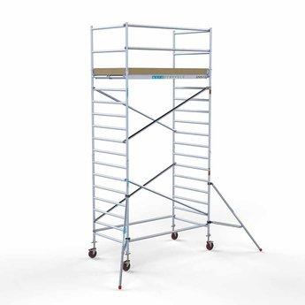 Steigeraanhanger 250 + Rolsteiger Basis 135 x 250 x 6,2 meter werkhoogte