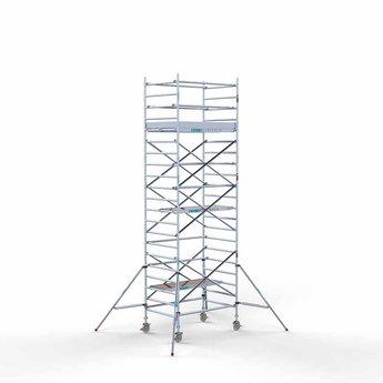 Steigeraanhanger 250 + Rolsteiger Compleet 135 x 190 x 7,2 meter werkhoogte