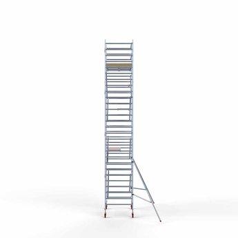 Steigeraanhanger 250 + Rolsteiger Basis 135 x 190 x 9,2 meter werkhoogte