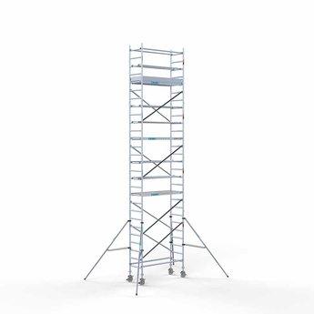 Steigeraanhanger 250 + Rolsteiger Compleet 75 x 190 x 9,2 meter werkhoogte