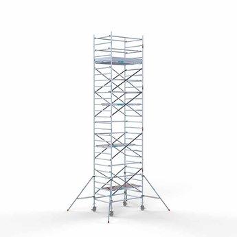 Steigeraanhanger 250 + Rolsteiger Compleet 135 x 190 x 9,2 meter werkhoogte