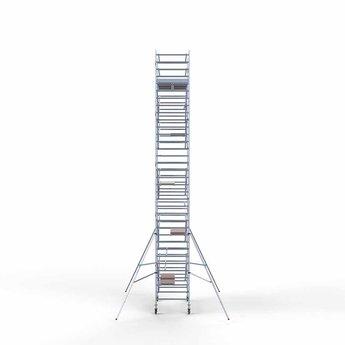 Steigeraanhanger 250 + Rolsteiger Compleet 135 x 250 x 11,2 meter werkhoogte