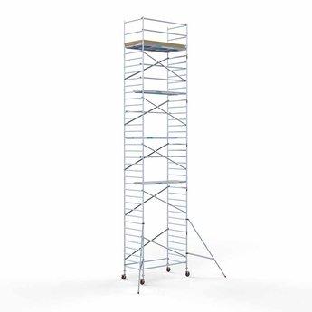 Steigeraanhanger 250 + Rolsteiger Basis 135 x 250 x 12,2 meter werkhoogte
