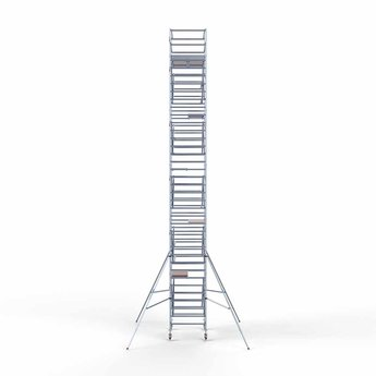 Steigeraanhanger 250 + Rolsteiger Compleet 135 x 190 x 12,2 meter werkhoogte