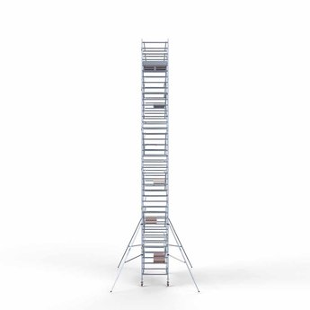 Steigeraanhanger 305 + Rolsteiger Compleet 135 x 305 x 13,2 meter werkhoogte