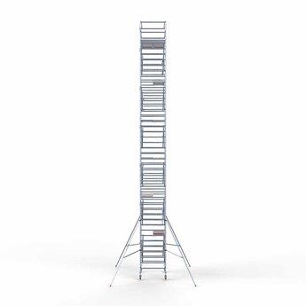 Steigeraanhanger 250 + Rolsteiger Compleet 135 x 190 x 14,2 meter werkhoogte