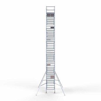 Steigeraanhanger 305 + Rolsteiger Compleet 135 x 305 x 14,2 meter werkhoogte