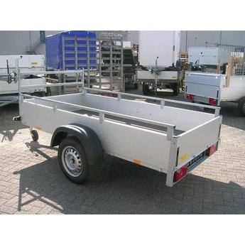 Bakwagen GT 750 + rolsteiger basis 135 x 250 x 6,2 meter werkhoogte  met lichtgewicht platformen
