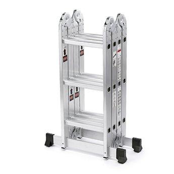 Vouwladder 4x3 treden incl. platform