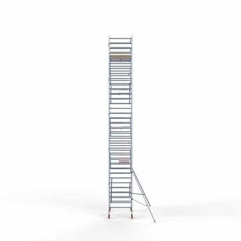 Steigeraanhanger 250 + Rolsteiger Basis 135 x 190 x 11,2 meter werkhoogte