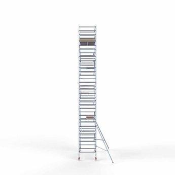 Steigeraanhanger 305 + Rolsteiger Basis 135 x 305 x 11,2 meter werkhoogte