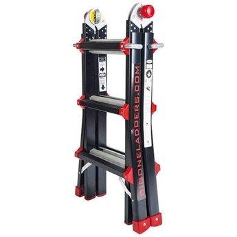 BigOne Multifunctionele vouwladder 4x3
