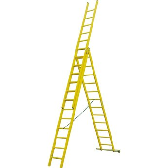 ALGA Kunststof ladder GVK 3x12 treden