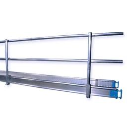 Leuning voor werkbrug 6 meter