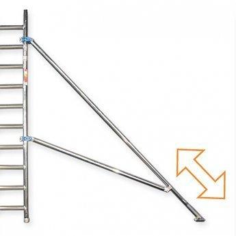 Rolsteiger Compleet 75 x 190 x 6,2 meter werkhoogte