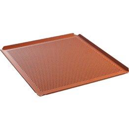Konvektomatenblech GN mit Lochung, Silikonbeschichtung 2/3 GN, 35,4x32,5x1cm