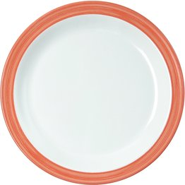 """Teller flach """"Colour"""" Ø19,5cm Melamin  orange"""