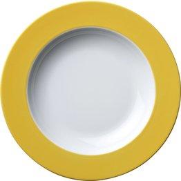 Teller tief Ø 22,5 cm gelb