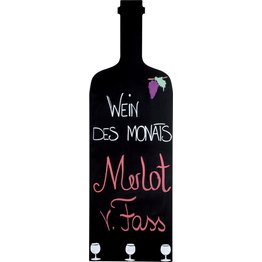 """Wandtafel """"Weinflasche"""""""