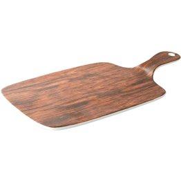"Porzellanserie ""Wood Design"" Alumina  Platte mit Griff 30x16 cm - NEU"